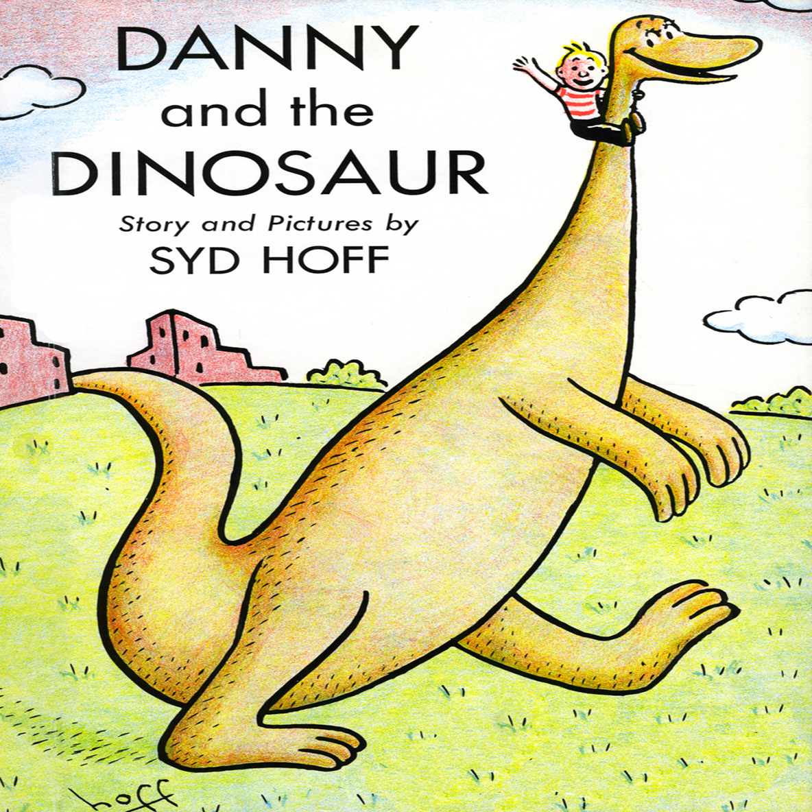 Printable Danny and the Dinosaur Audiobook Cover Art