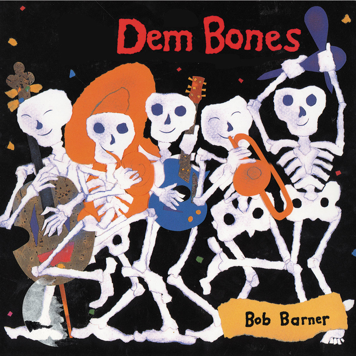 Printable Dem Bones Audiobook Cover Art