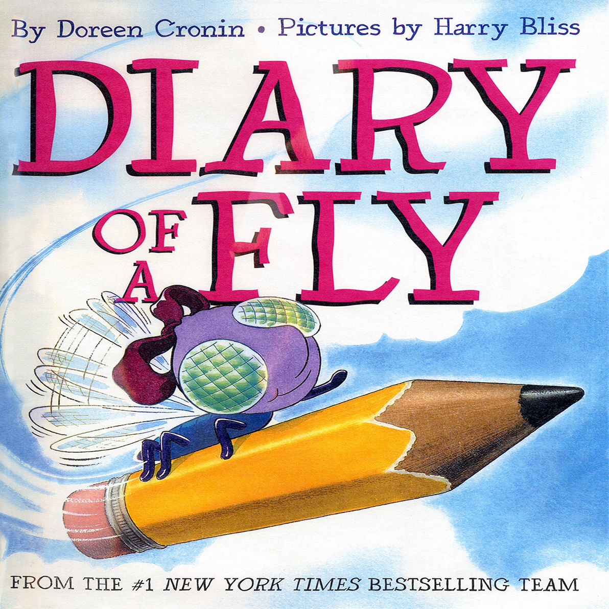 Printable Diary of a Fly Audiobook Cover Art