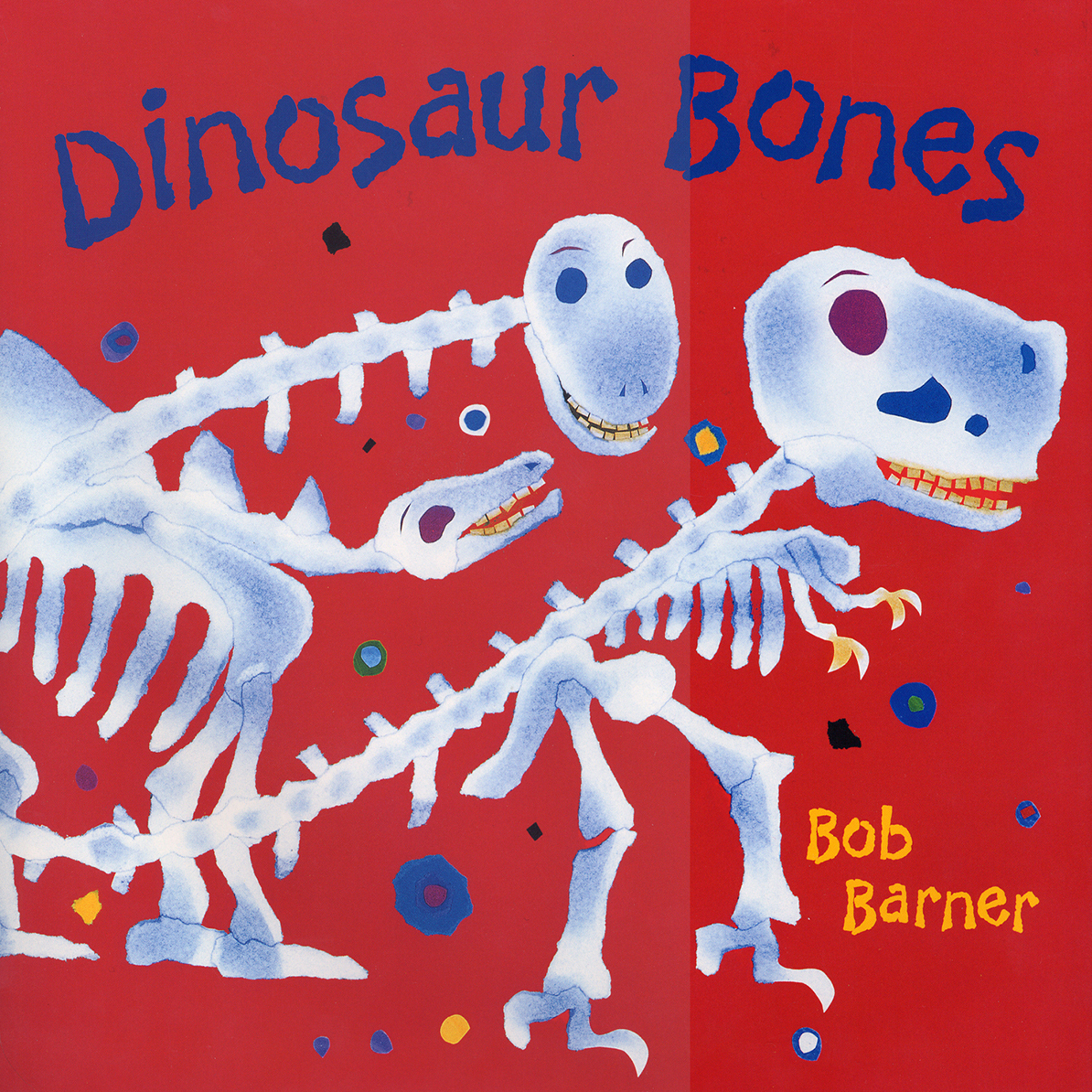 Printable Dinosaur Bones Audiobook Cover Art
