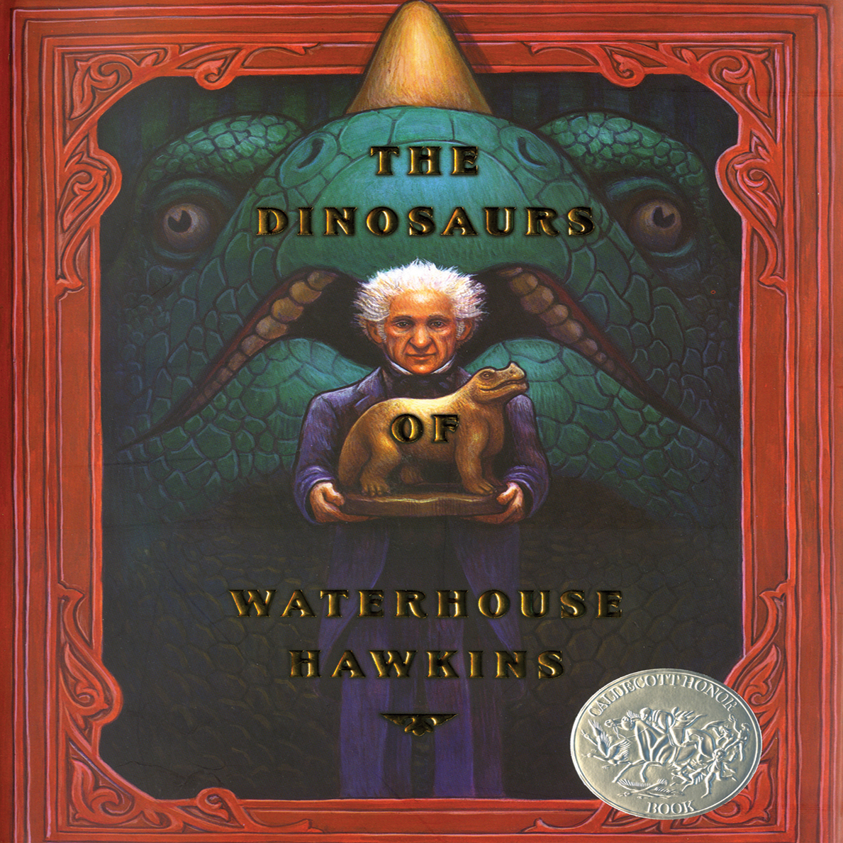 Printable The Dinosaurs of Waterhouse Hawkins Audiobook Cover Art