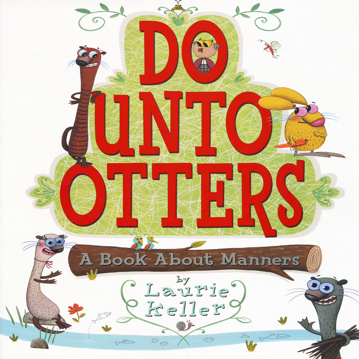 Printable Do unto Otters: A Book about Manners Audiobook Cover Art