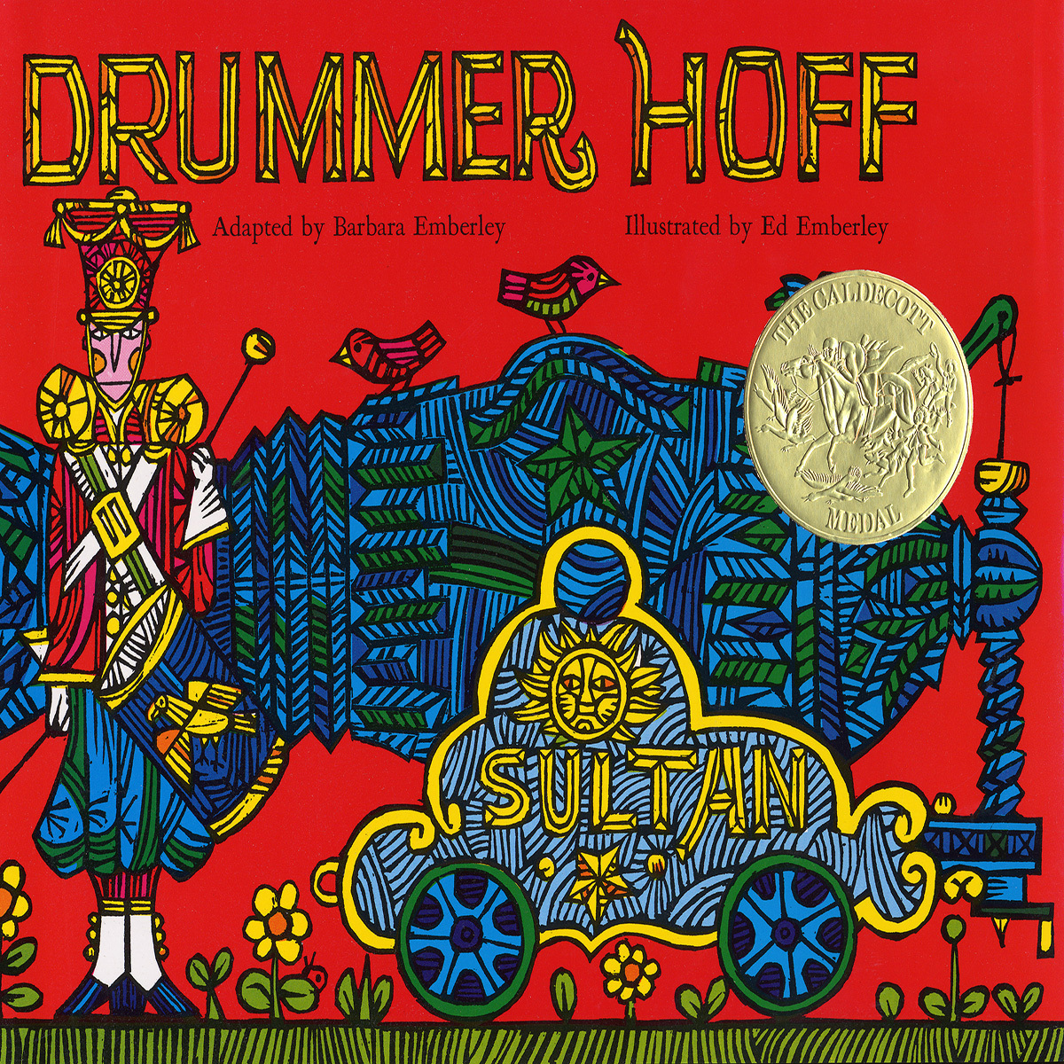 Printable Drummer Hoff Audiobook Cover Art