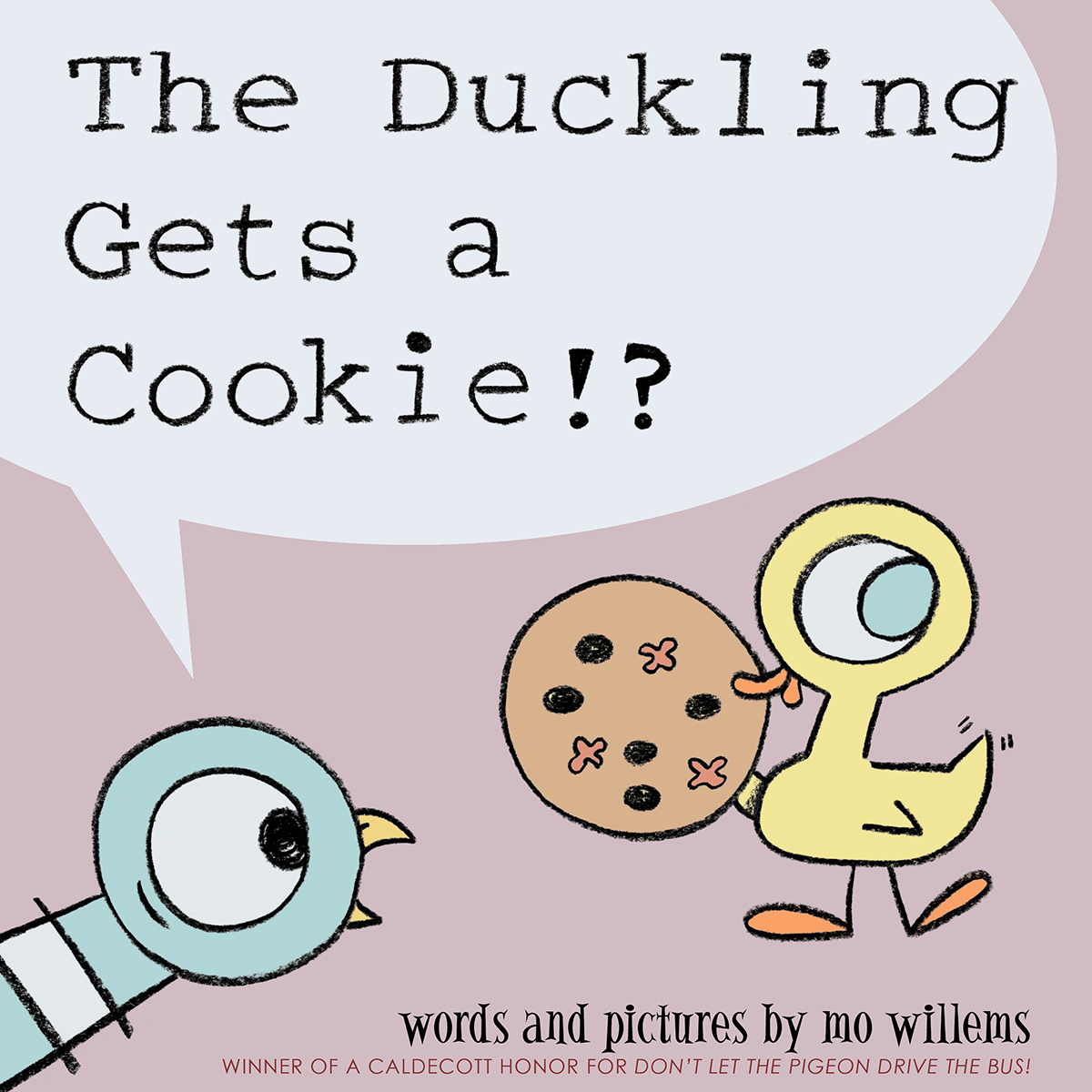 Printable The Duckling Gets a Cookie!? Audiobook Cover Art