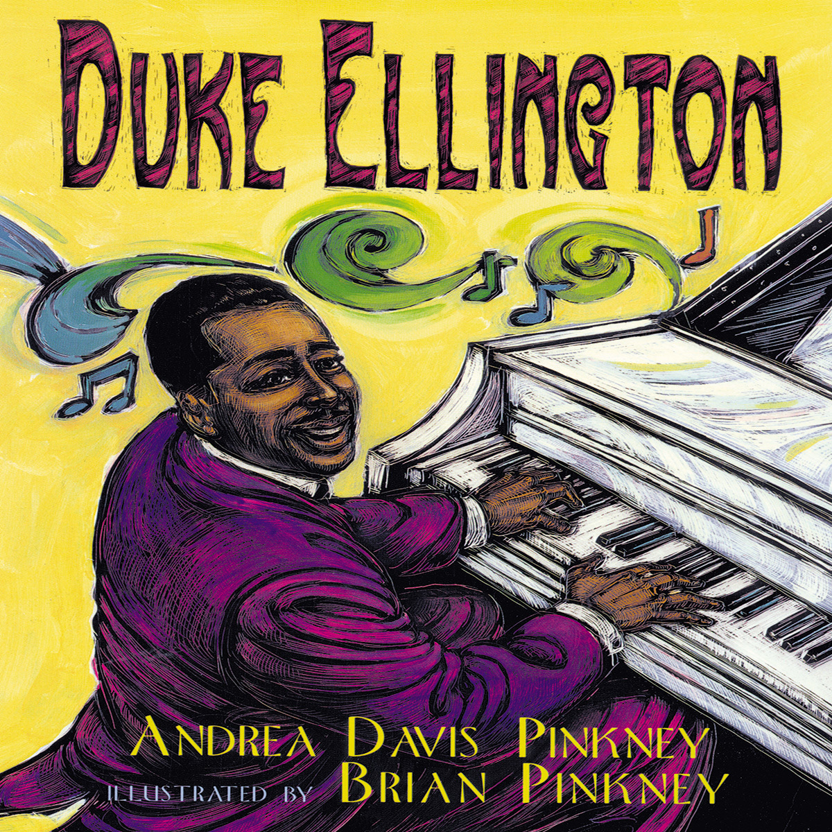 Printable Duke Ellington: The Piano Prince and His Orchestra Audiobook Cover Art