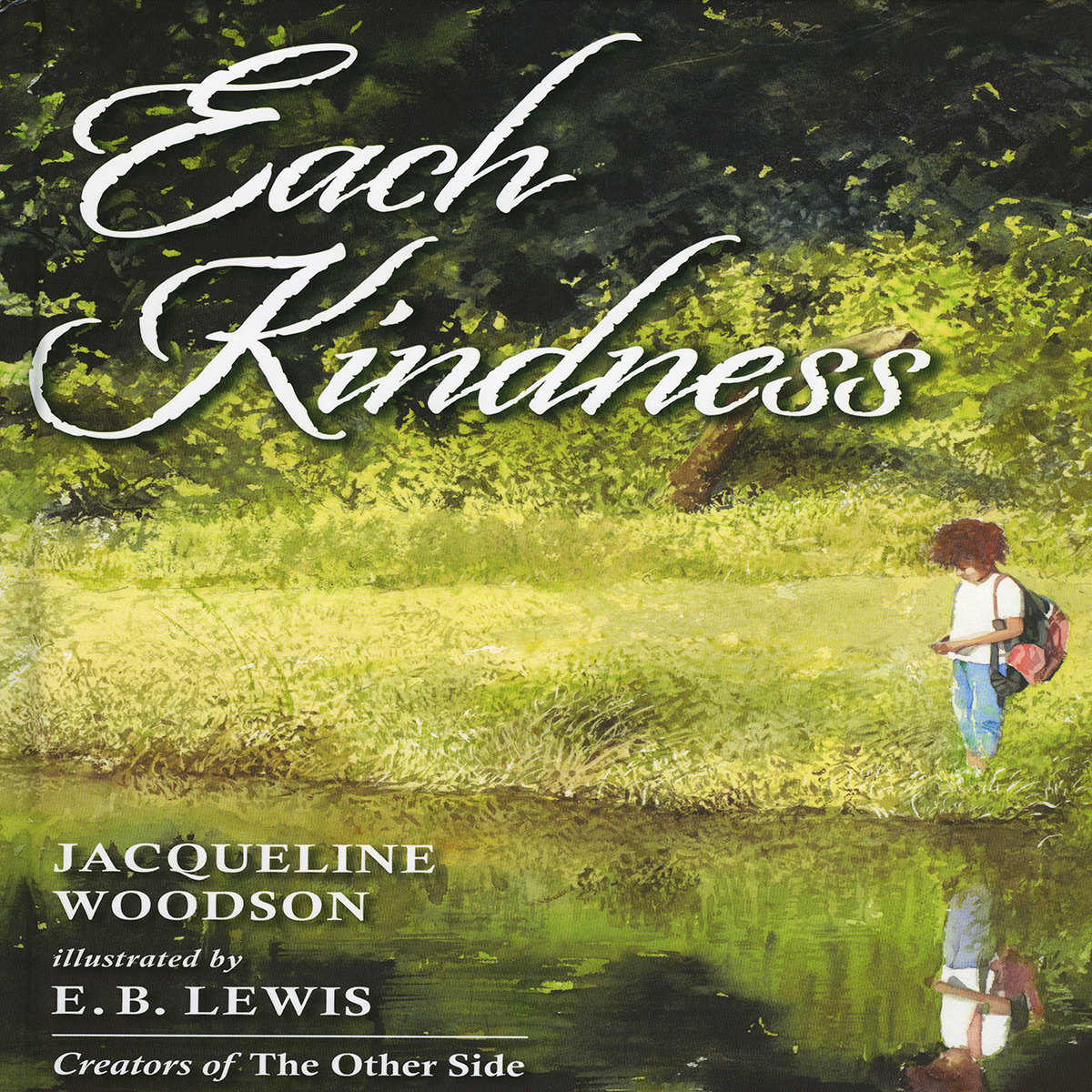Printable Each Kindness Audiobook Cover Art