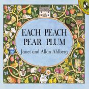 Each Peach Pear Plum Audiobook, by Janet Ahlberg