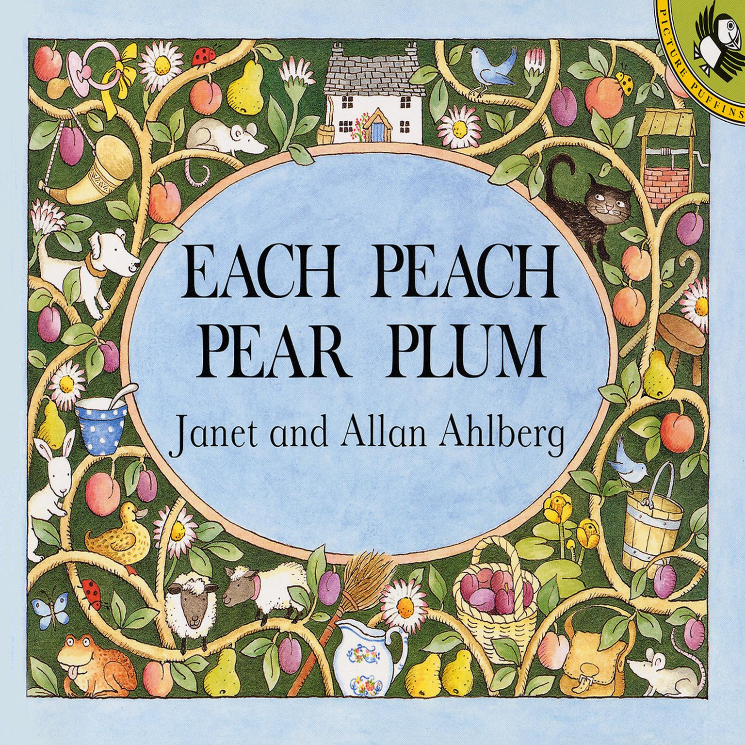 Printable Each Peach Pear Plum Audiobook Cover Art