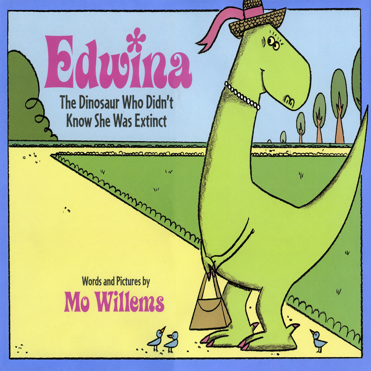 Printable Edwina: The Dinosaur Who Didn't Know She Was Extinct Audiobook Cover Art