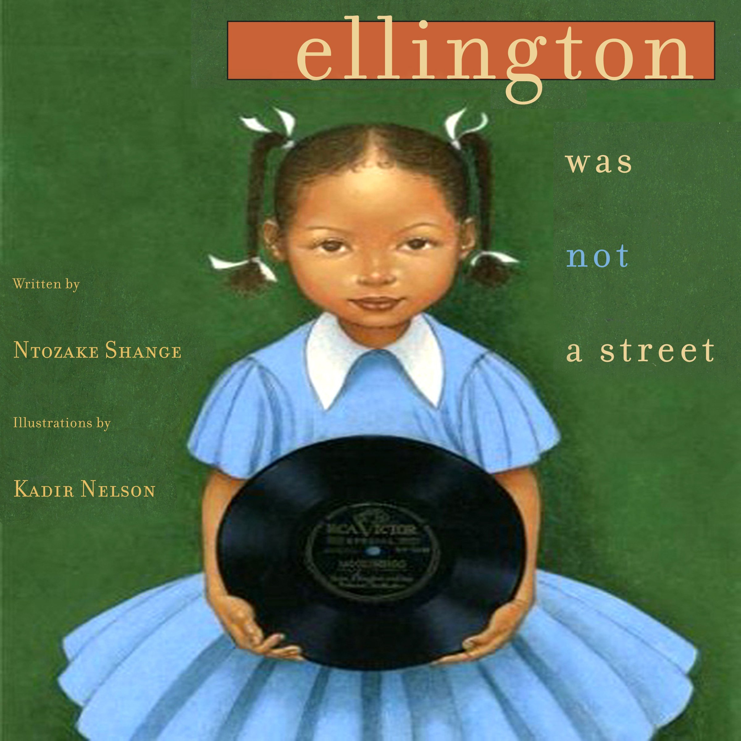 Printable Ellington Was Not a Street Audiobook Cover Art