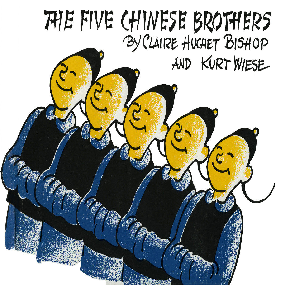 Printable The Five Chinese Brothers Audiobook Cover Art