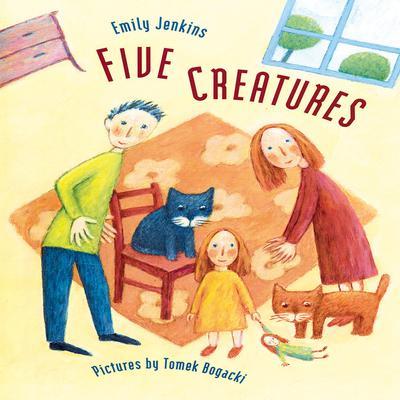Five Creatures Audiobook, by Emily Jenkins