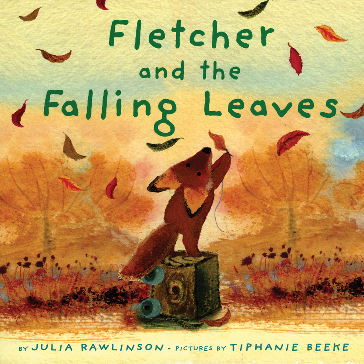 Printable Fletcher and the Falling Leaves Audiobook Cover Art