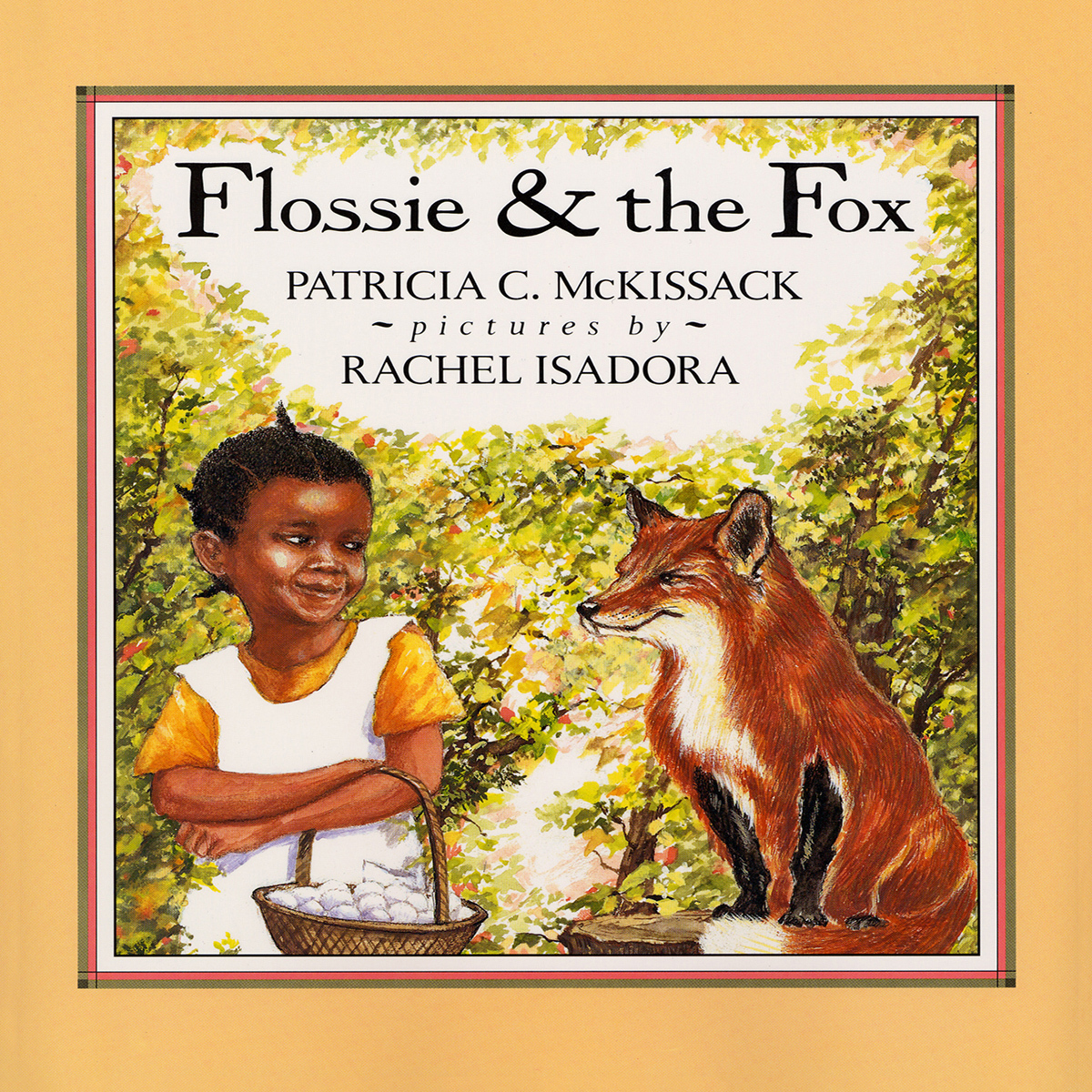 Printable Flossie and the Fox Audiobook Cover Art