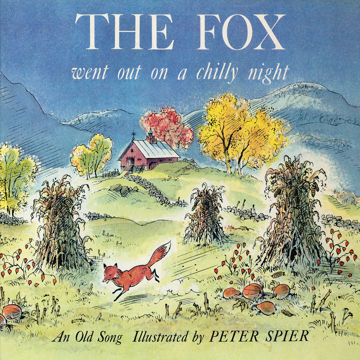 Printable The Fox Went Out on a Chilly Night Audiobook Cover Art