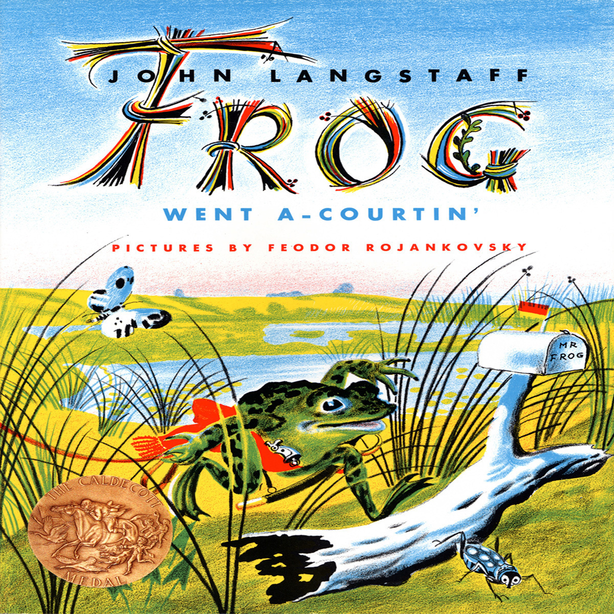 Printable Frog Went A-courtin' Audiobook Cover Art