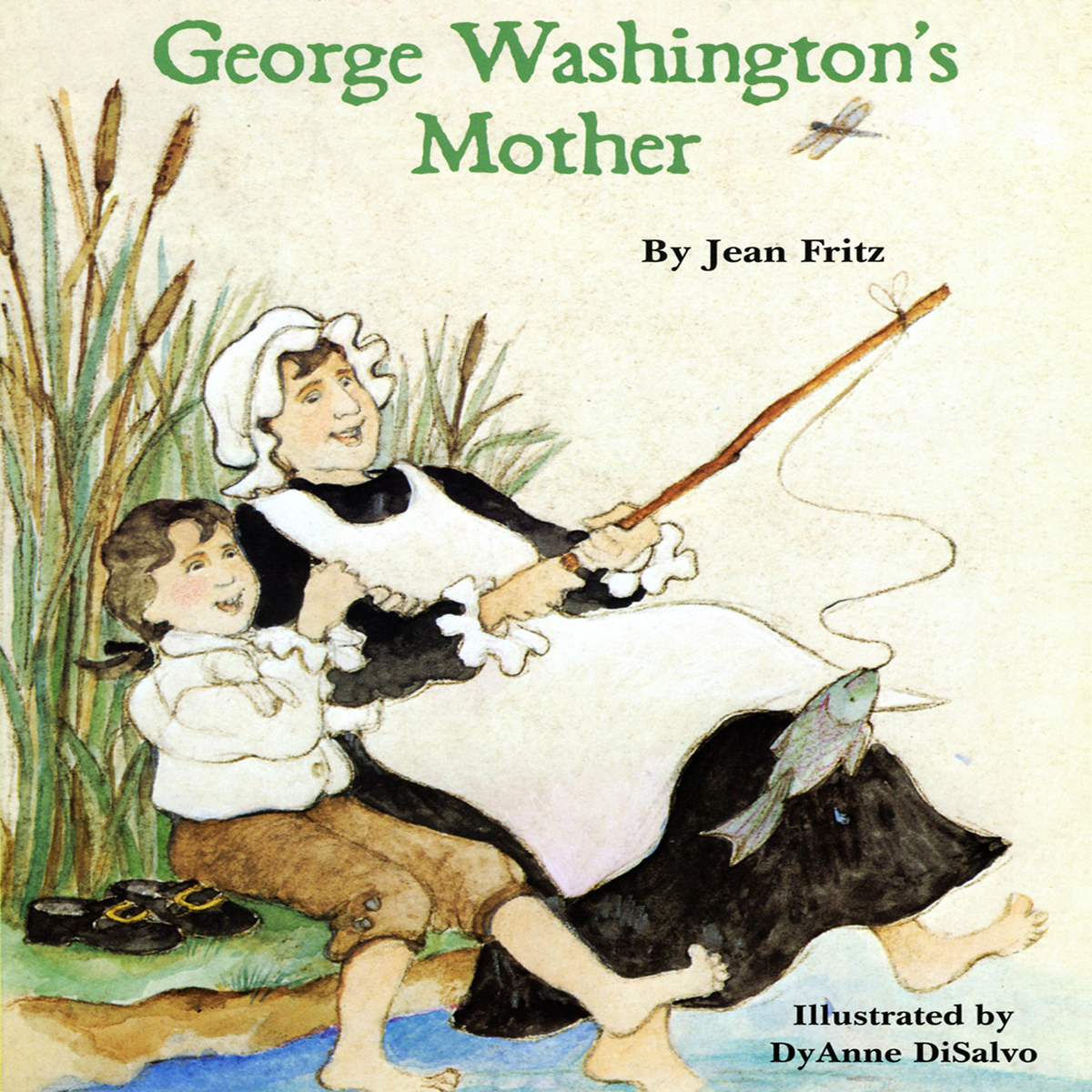 Printable George Washington's Mother Audiobook Cover Art