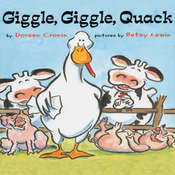 Giggle Giggle Quack Audiobook, by Doreen Cronin