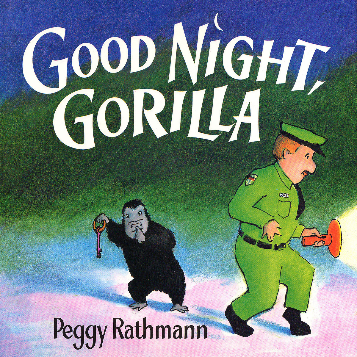 Printable Good Night, Gorilla Audiobook Cover Art