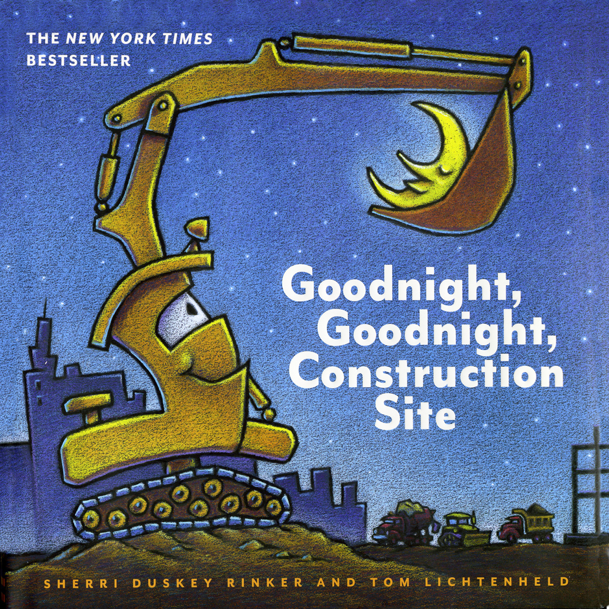Printable Goodnight, Goodnight, Construction Site Audiobook Cover Art