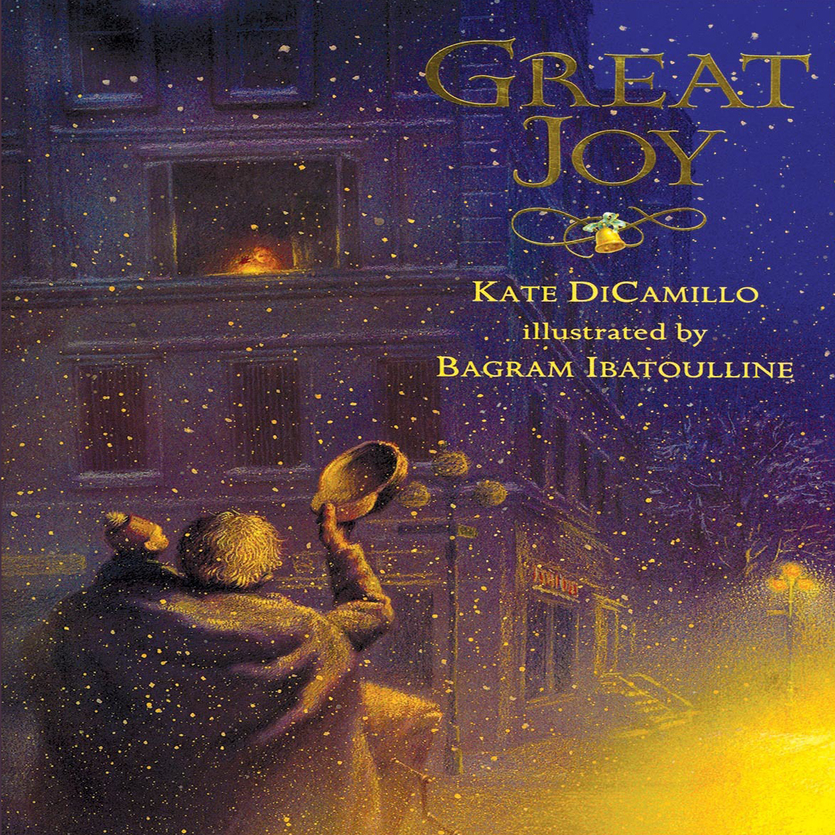 Printable Great Joy Audiobook Cover Art