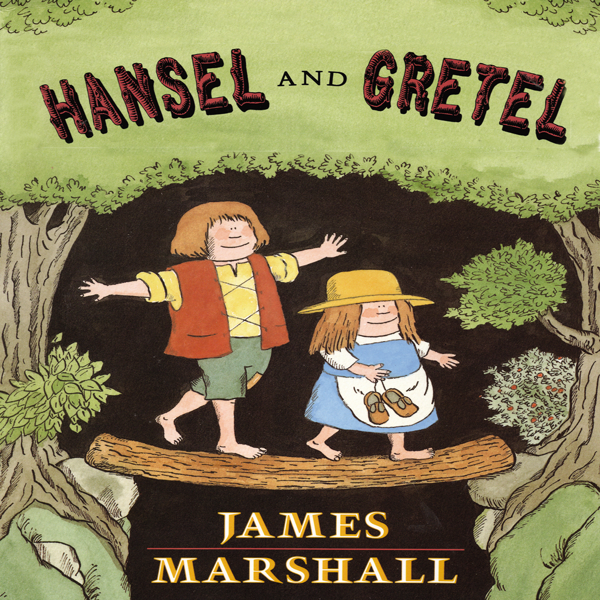 Printable Hansel & Gretel Audiobook Cover Art