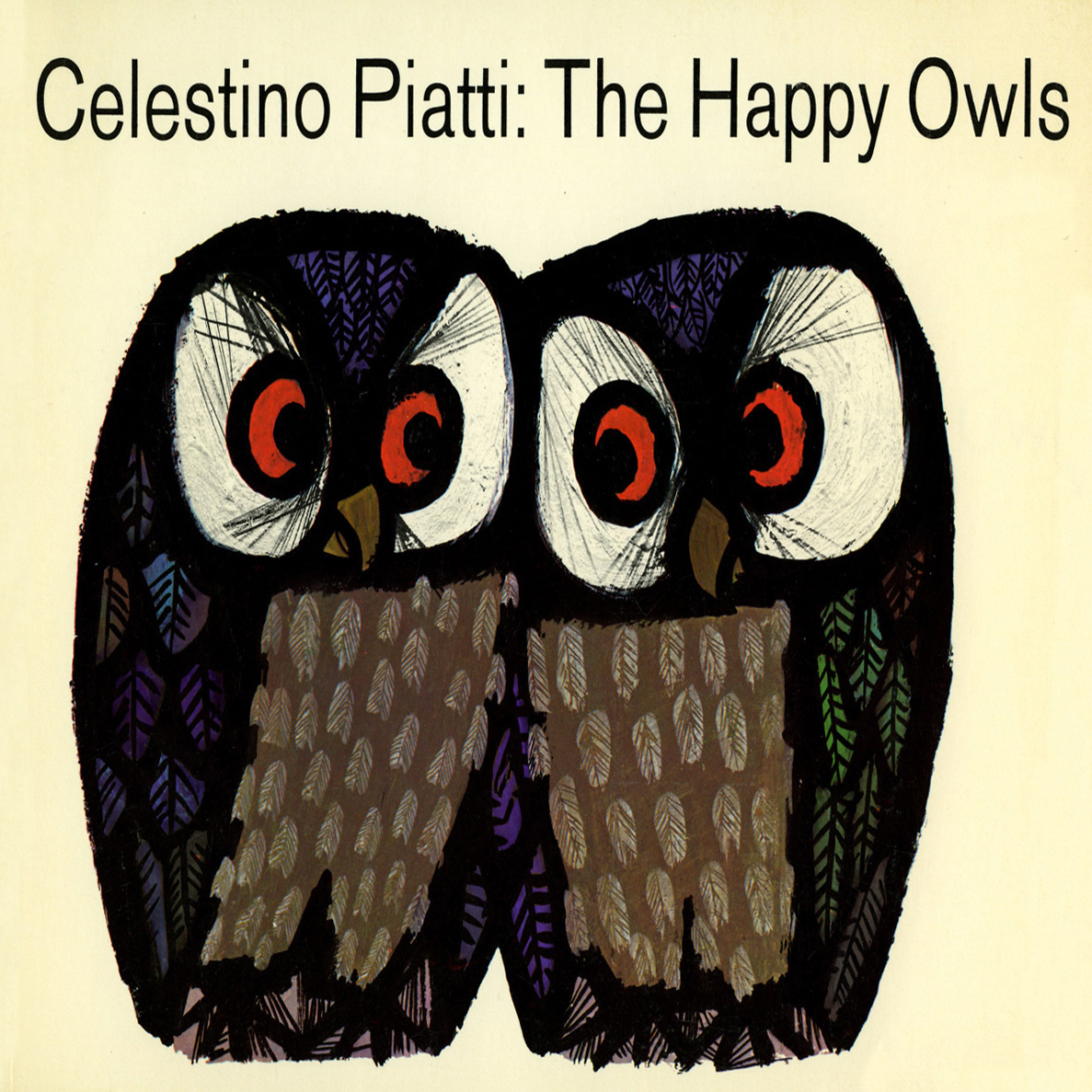 Printable The Happy Owls Audiobook Cover Art