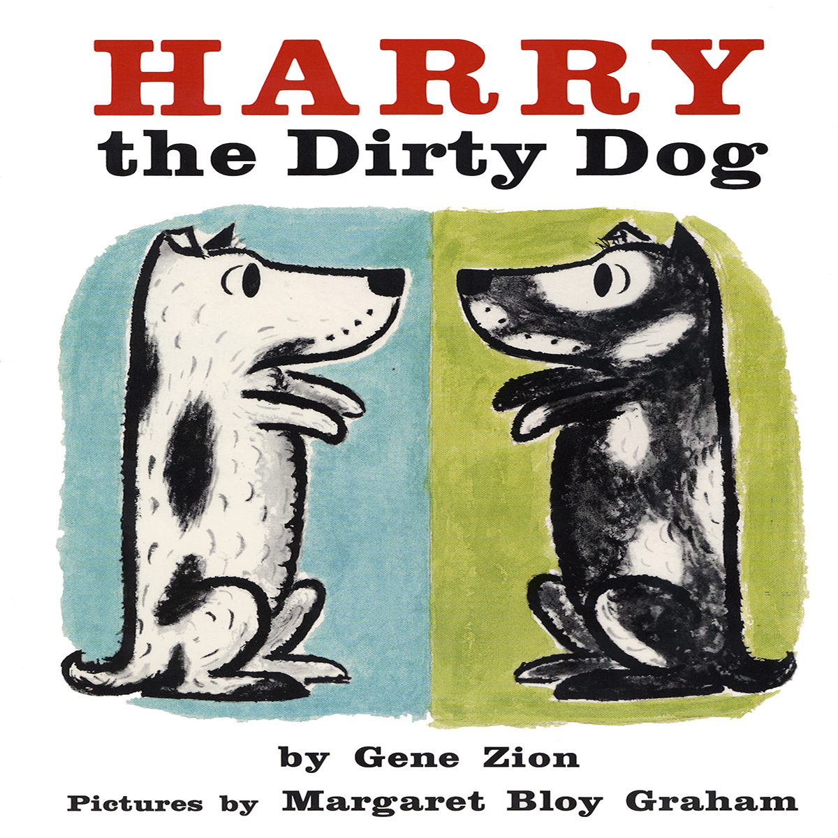 Printable Harry the Dirty Dog Audiobook Cover Art