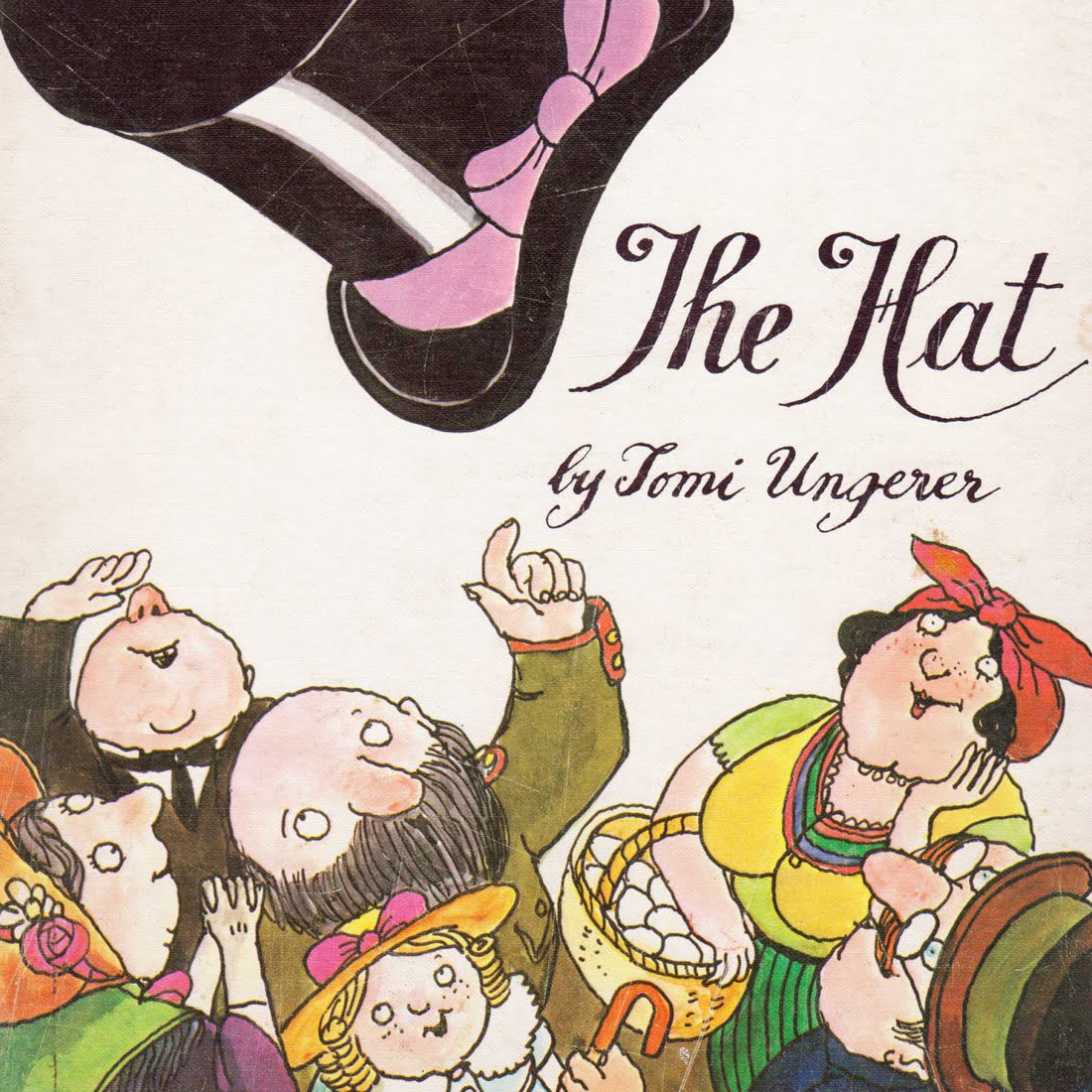 Printable The Hat Audiobook Cover Art