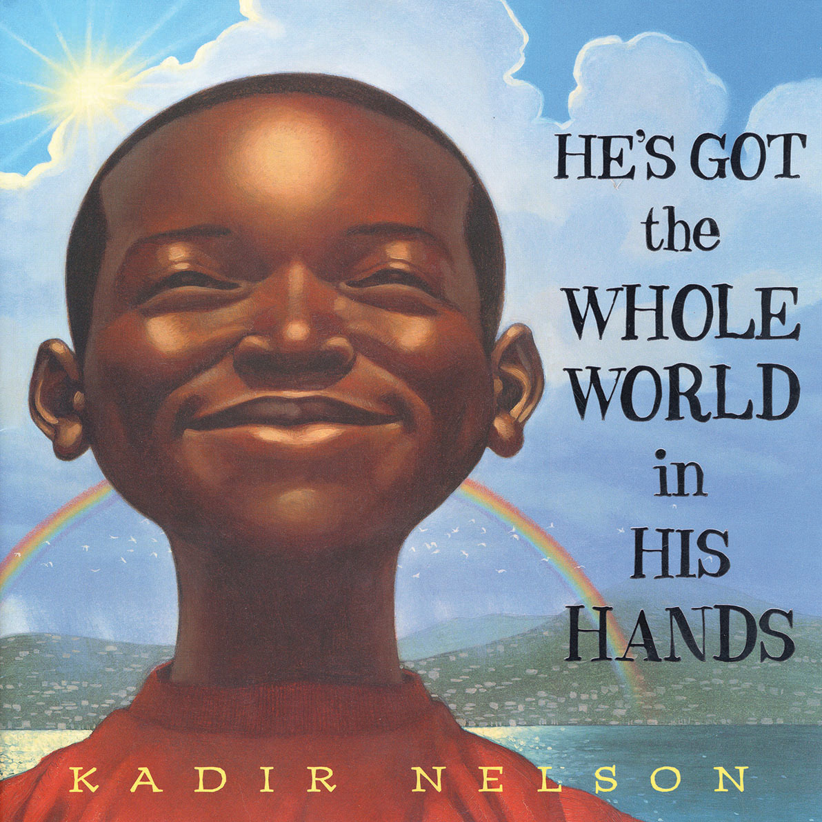 Printable He's Got the Whole World in His Hands Audiobook Cover Art