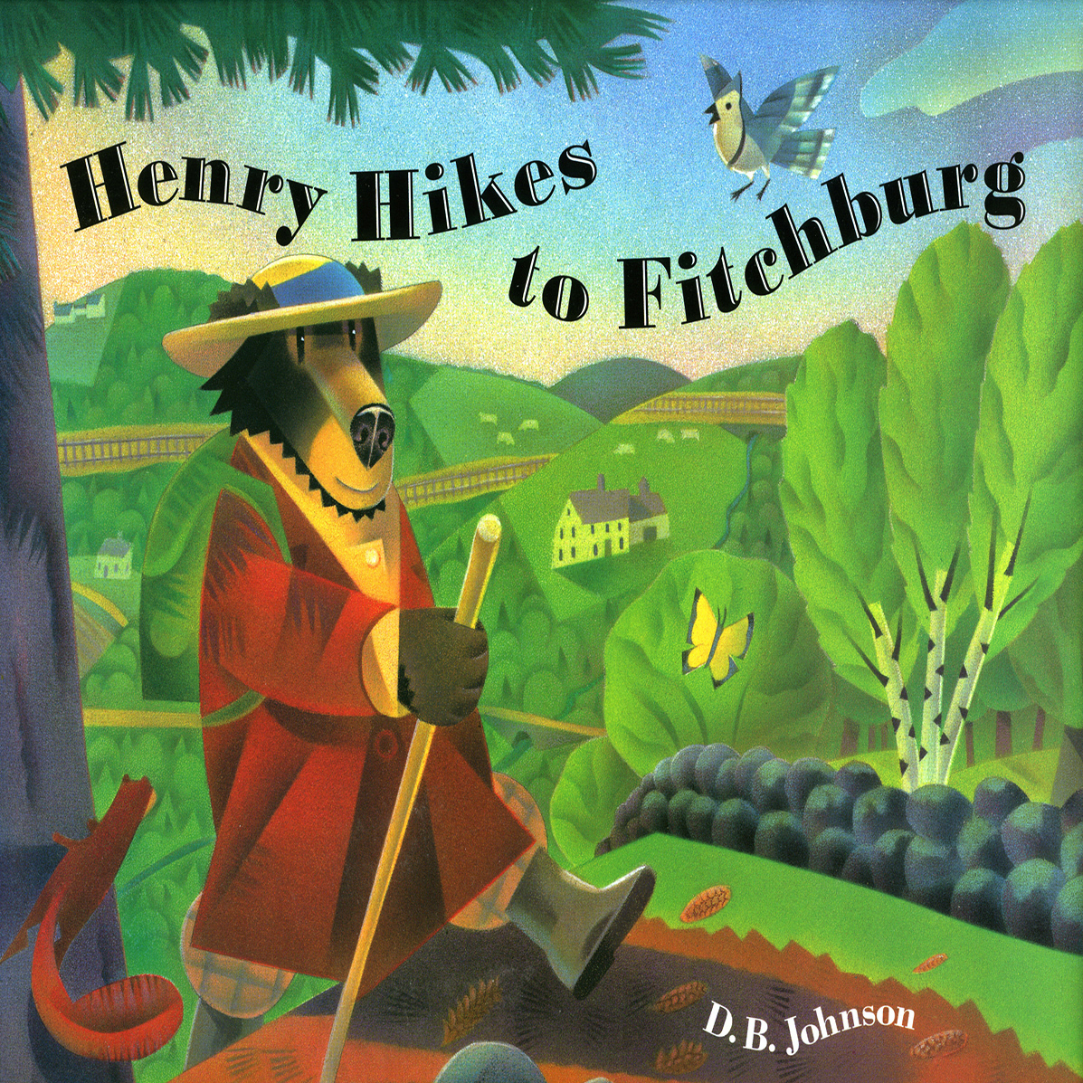 Printable Henry Hikes to Fitchburg Audiobook Cover Art