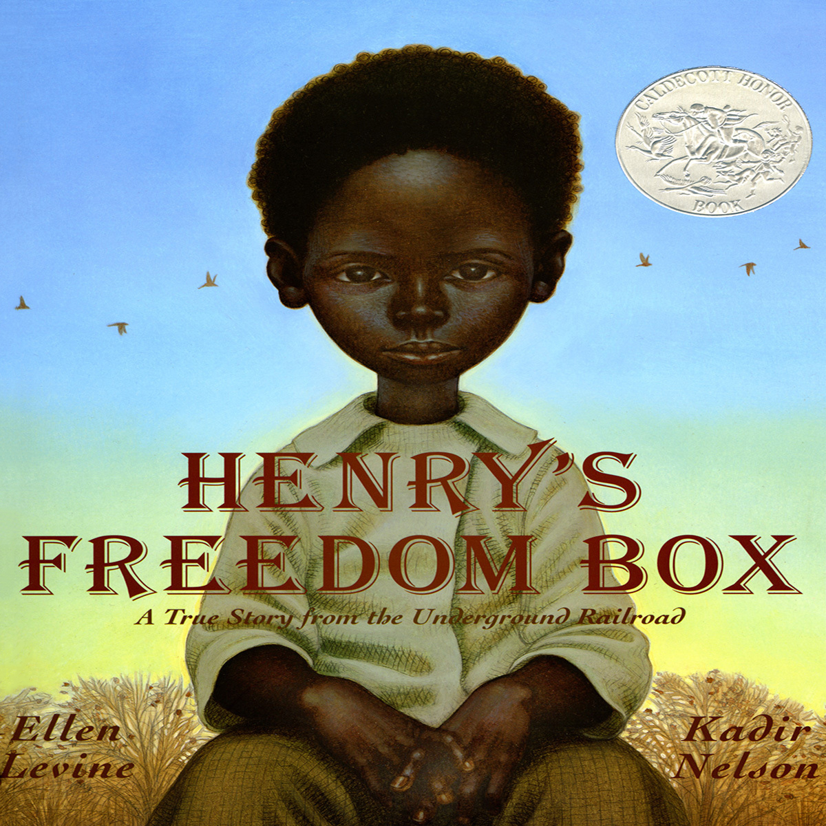 Printable Henry's Freedom Box: A True Story from the Underground Railroad Audiobook Cover Art