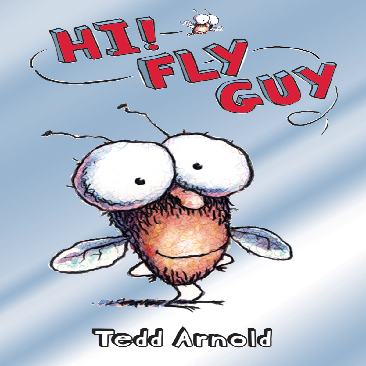Printable Hi! Fly Guy Audiobook Cover Art