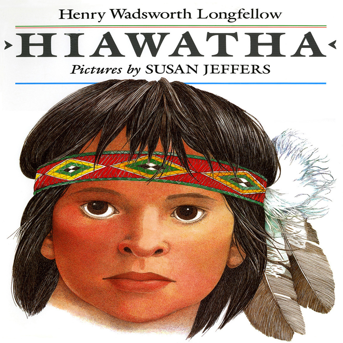 Printable Hiawatha Audiobook Cover Art