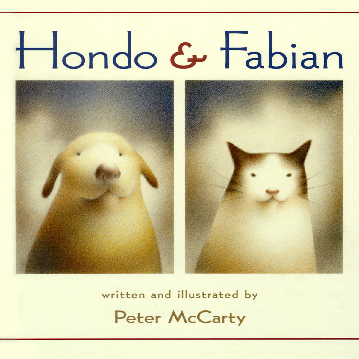 Printable Hondo & Fabian Audiobook Cover Art