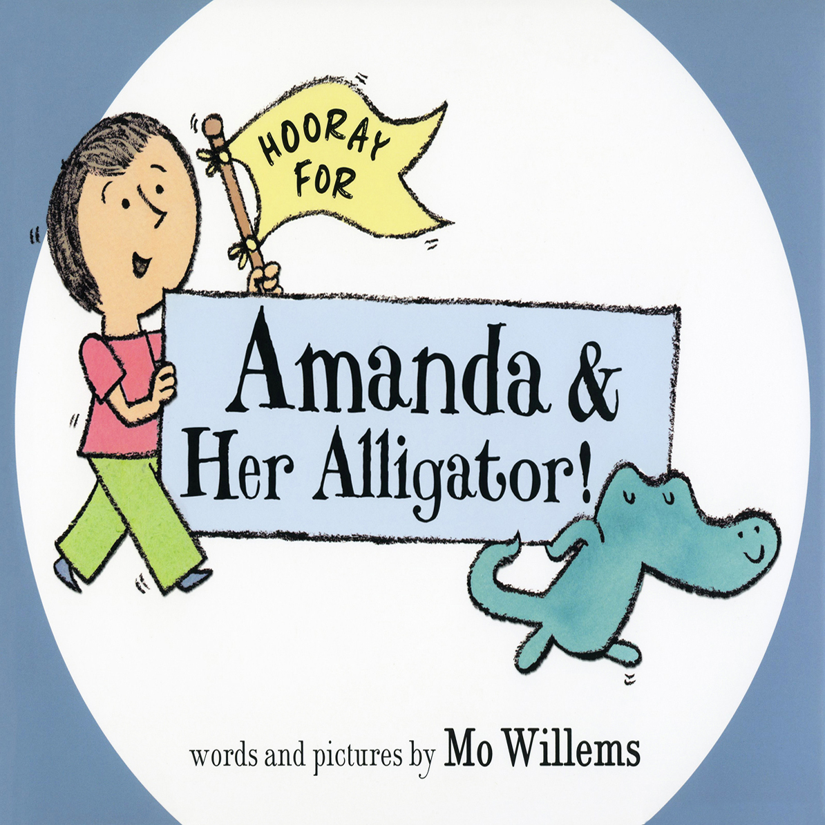 Printable Hooray for Amanda and Her Alligator Audiobook Cover Art
