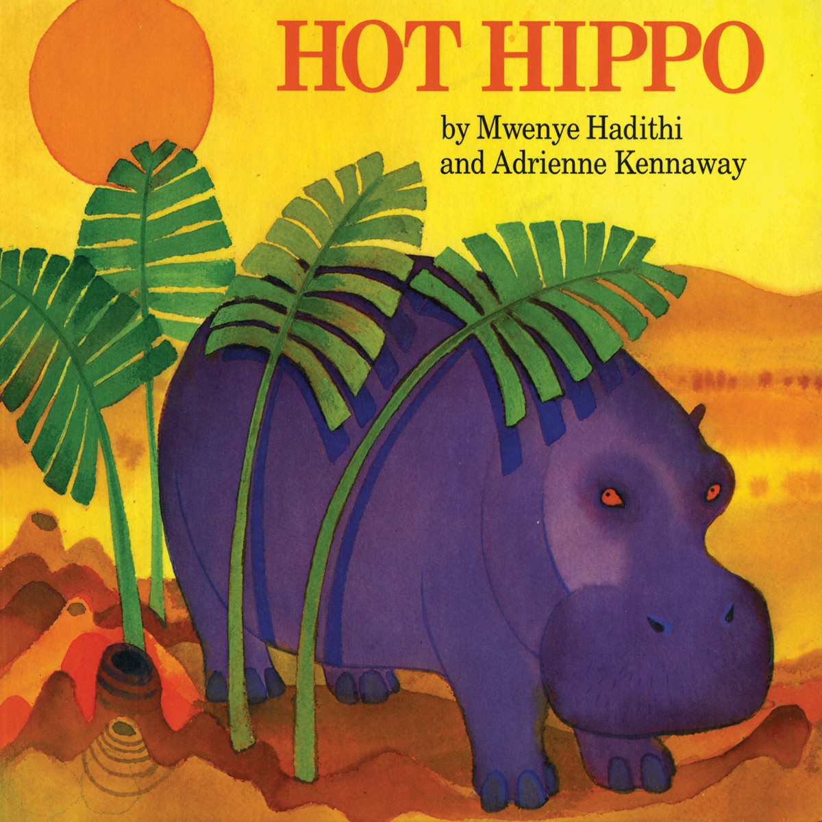 Printable Hot Hippo Audiobook Cover Art