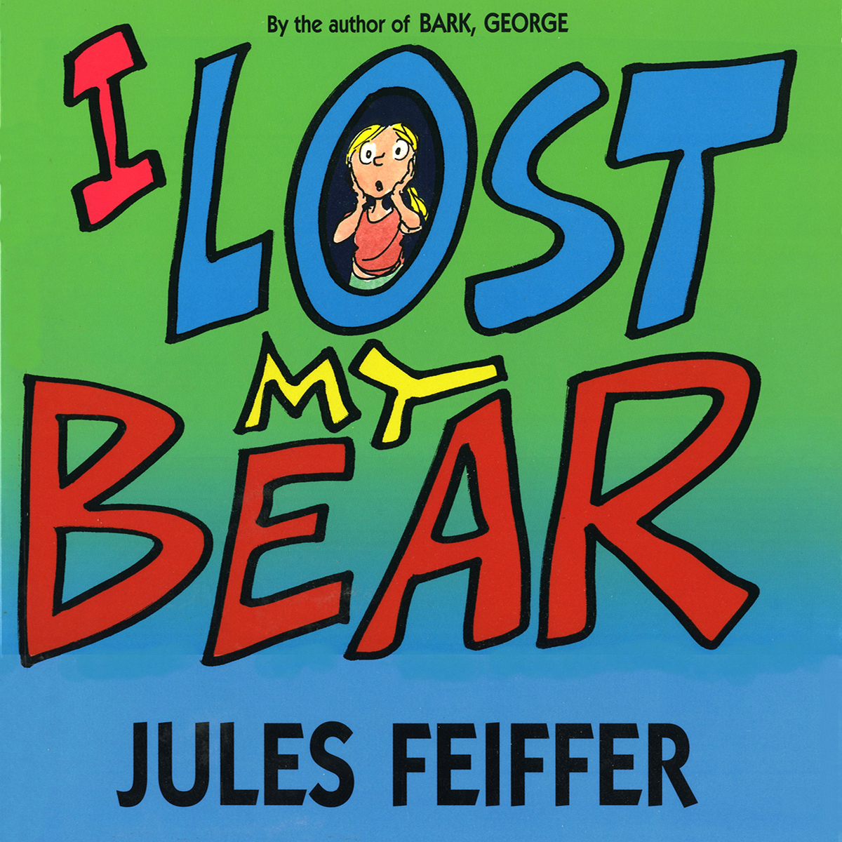 Printable I Lost My Bear Audiobook Cover Art