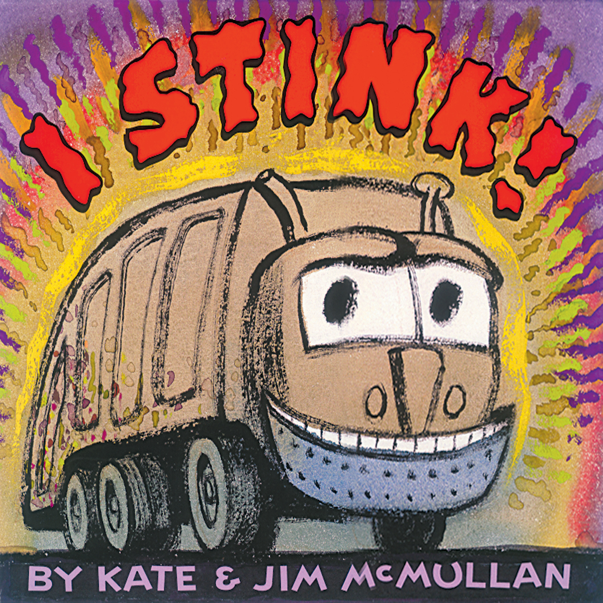Printable I Stink! Audiobook Cover Art