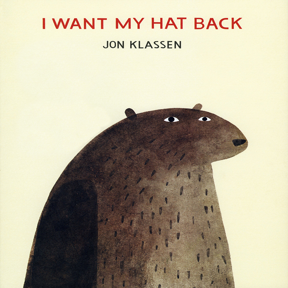 Printable I Want My Hat Back Audiobook Cover Art