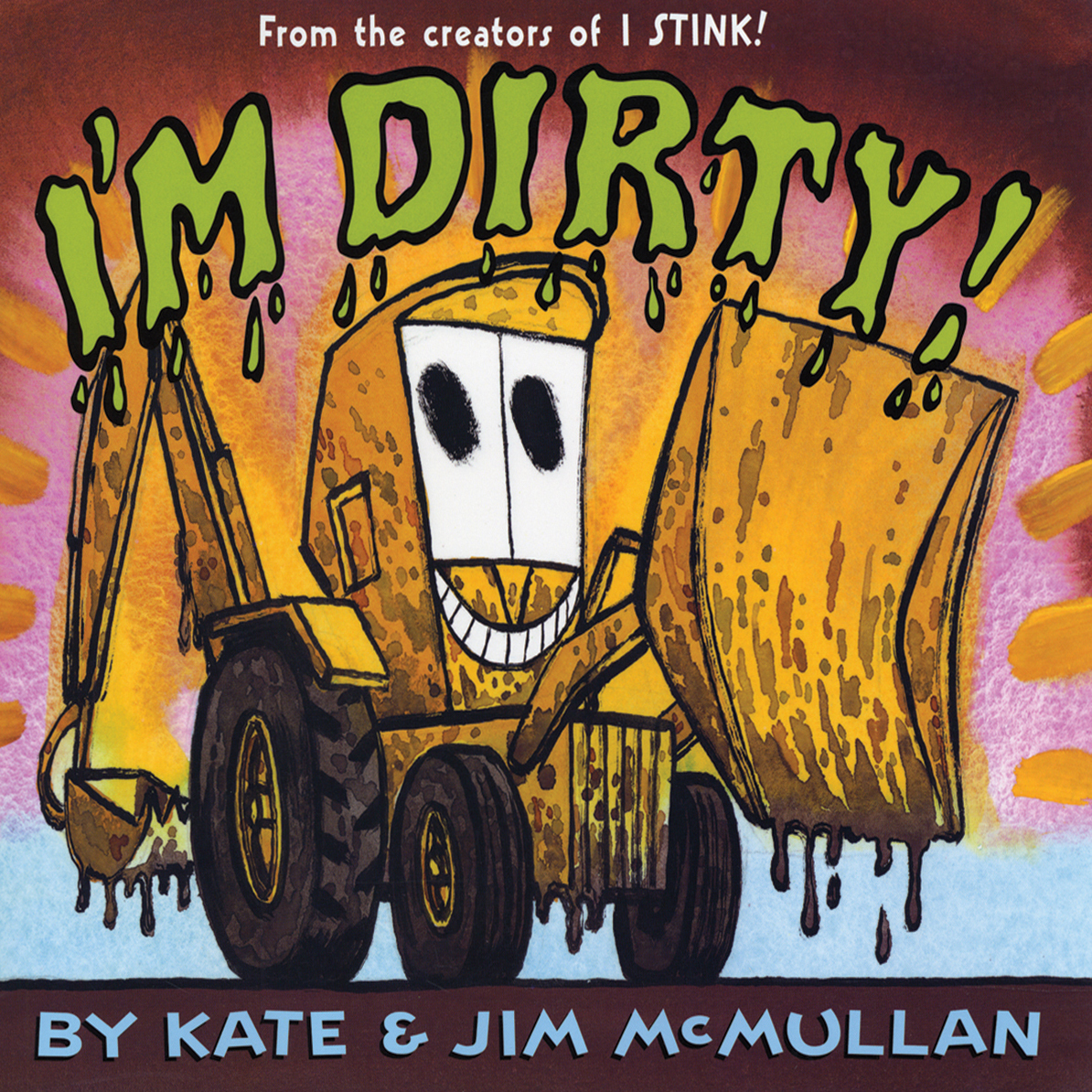 Printable I'm Dirty! Audiobook Cover Art