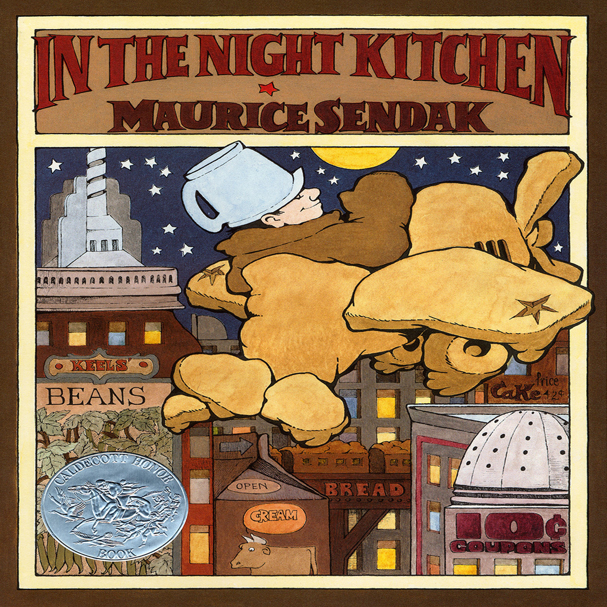 Printable In the Night Kitchen Audiobook Cover Art