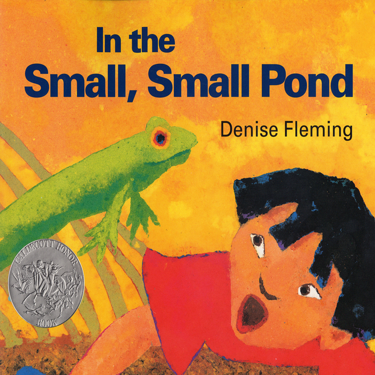 Printable In the Small, Small Pond Audiobook Cover Art
