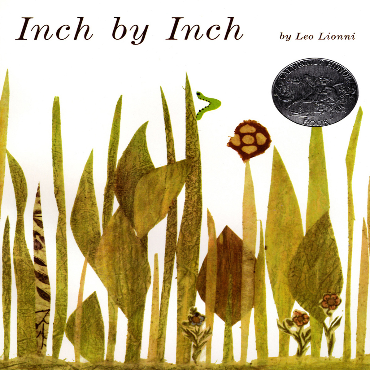 Printable Inch by Inch Audiobook Cover Art