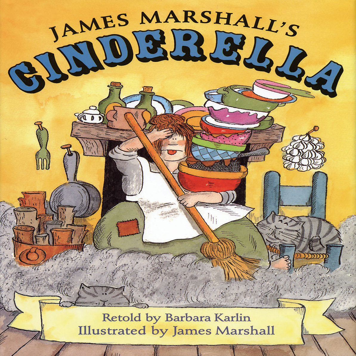 Printable James Marshall's Cinderella Audiobook Cover Art