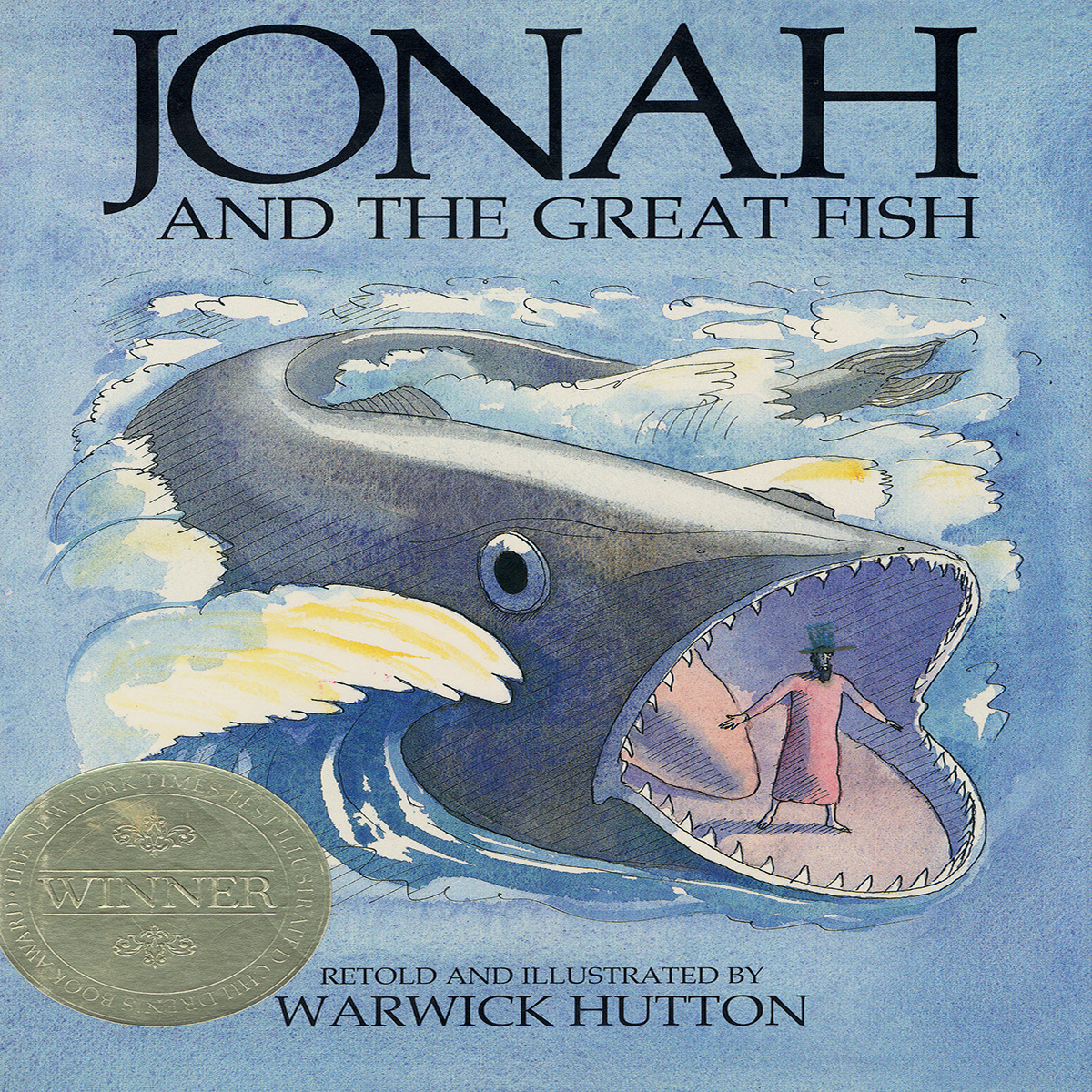 Printable Jonah and the Great Fish Audiobook Cover Art