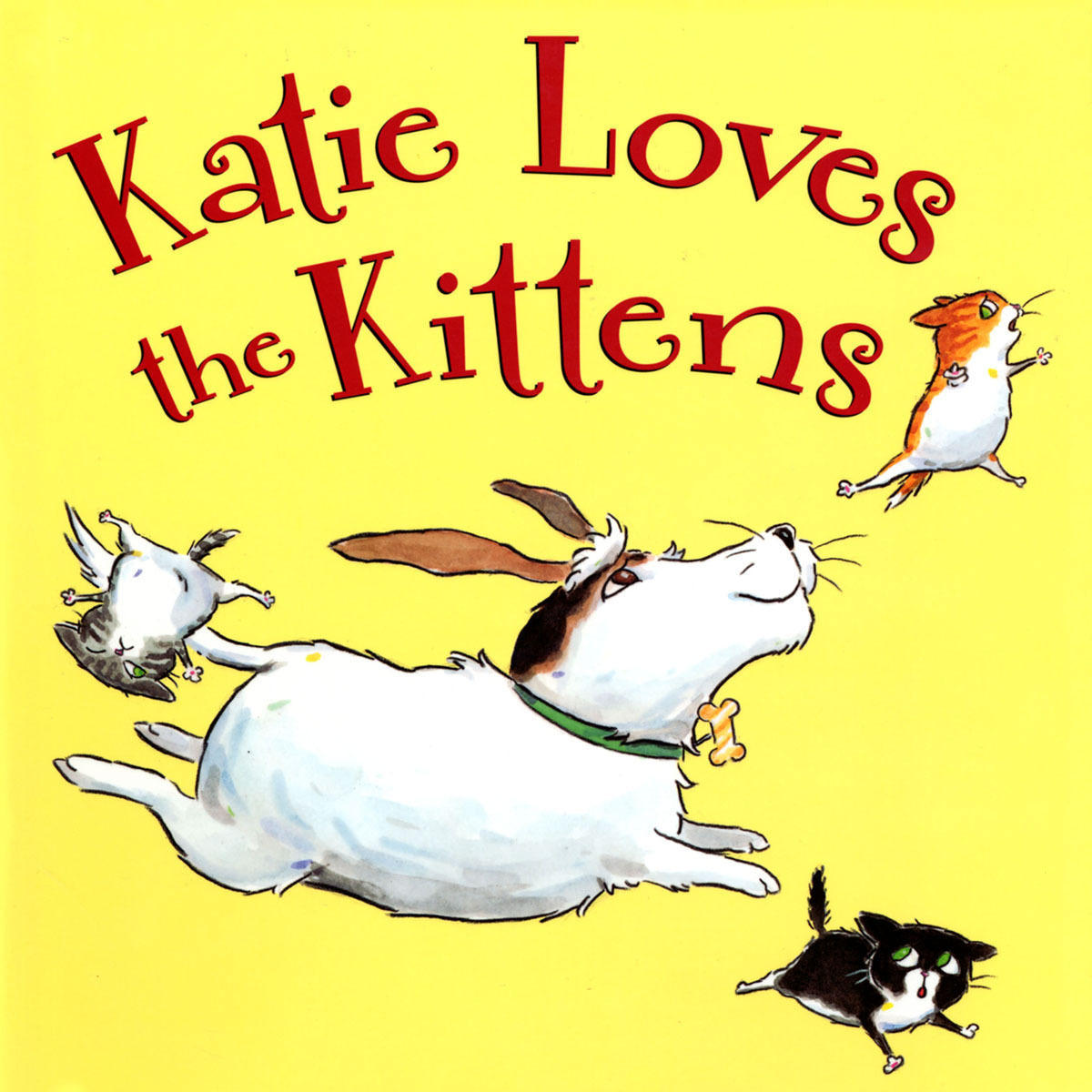 Printable Katie Loves The Kittens Audiobook Cover Art