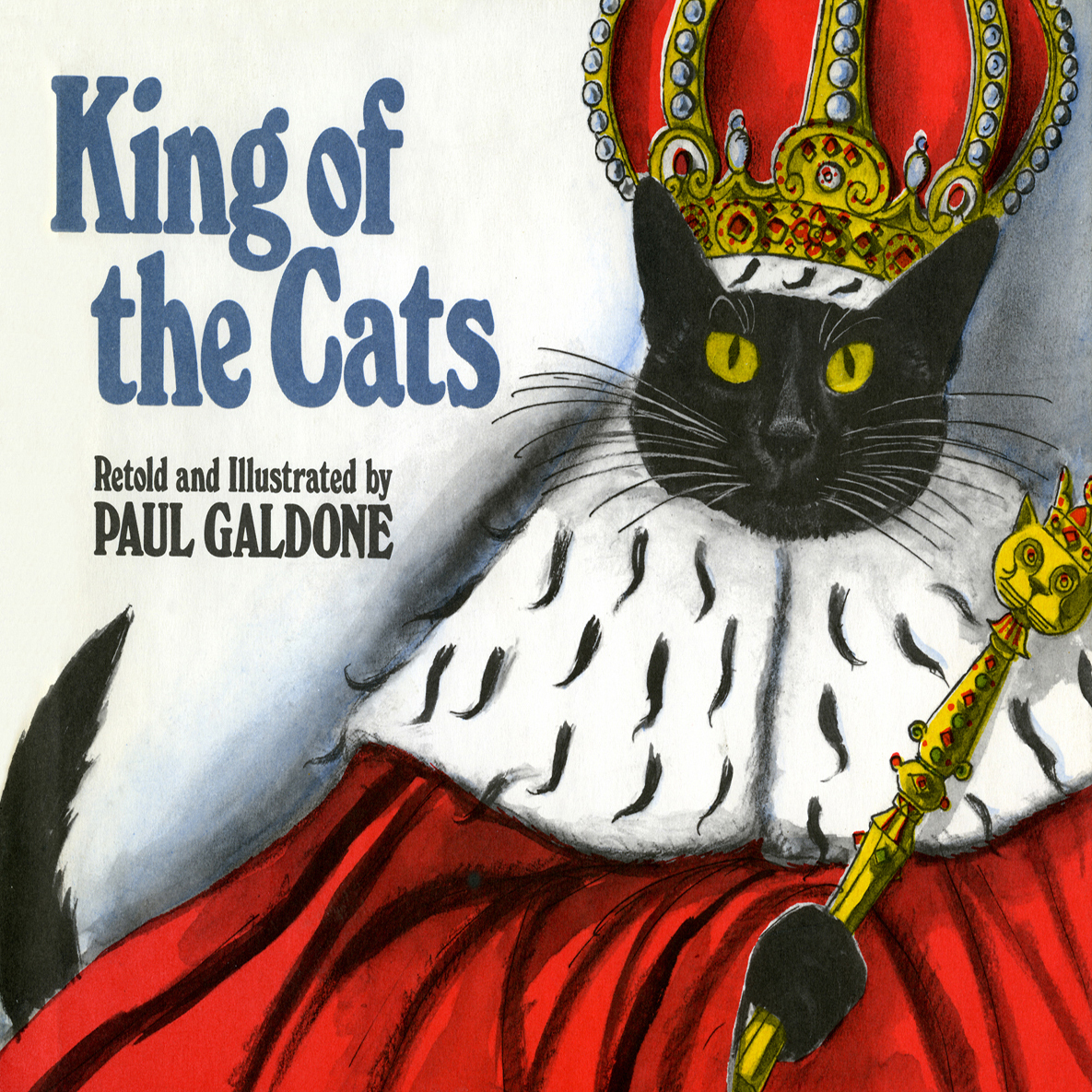 Printable King of the Cats Audiobook Cover Art