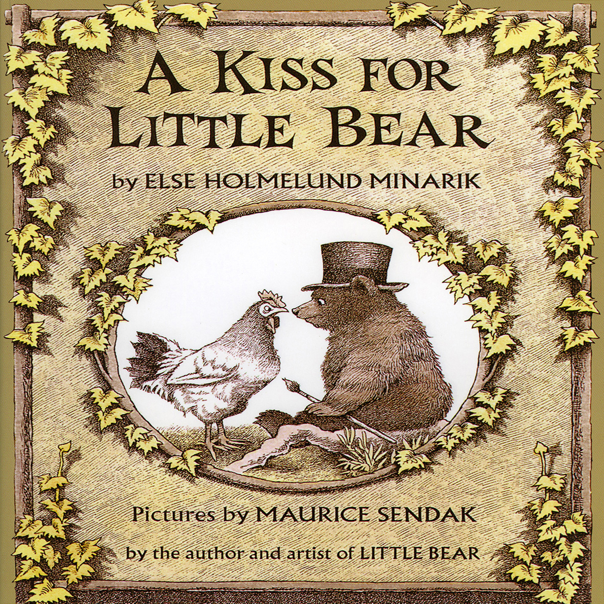 Printable A Kiss For Little Bear Audiobook Cover Art