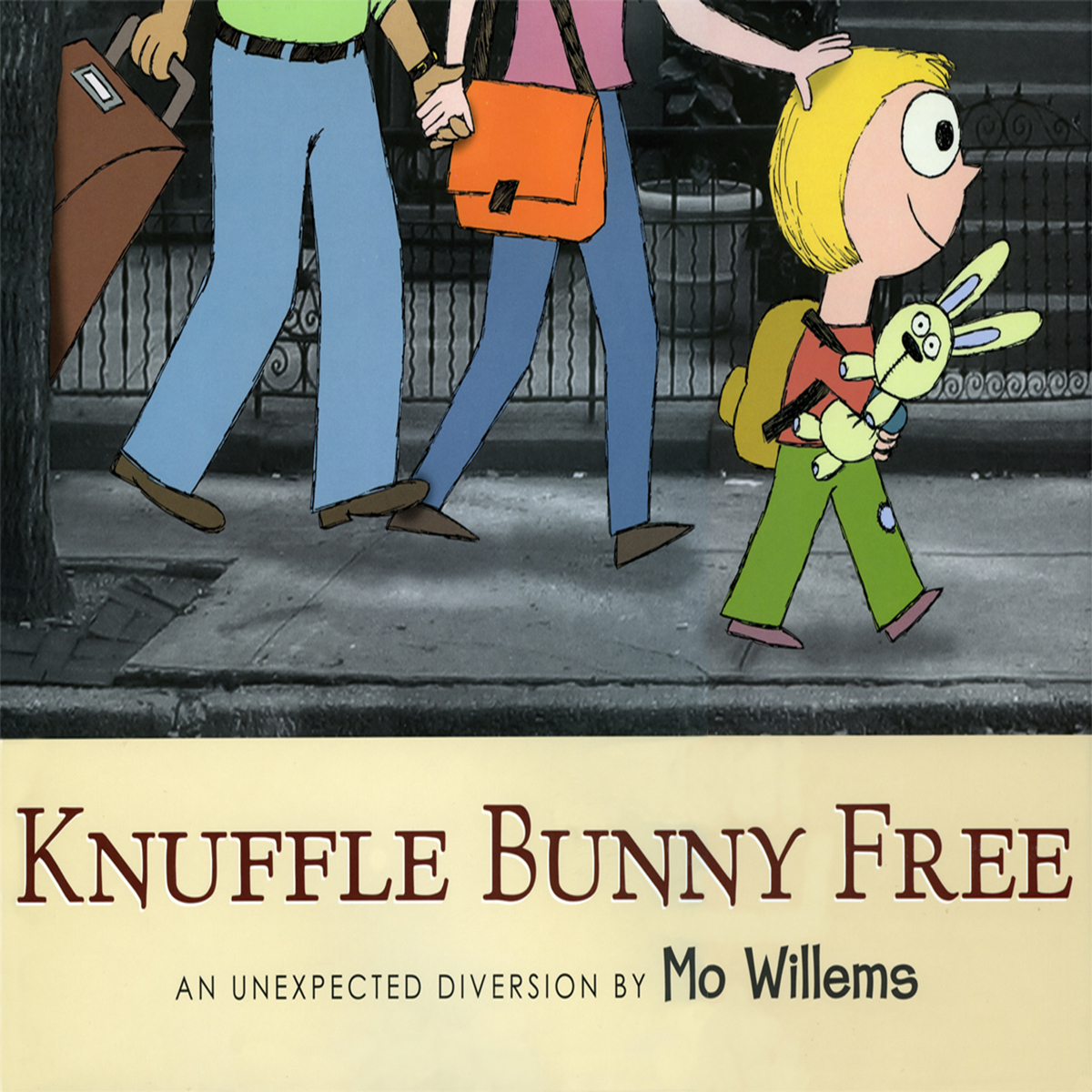 Printable Knuffle Bunny Free: An Unexpected Diversion Audiobook Cover Art